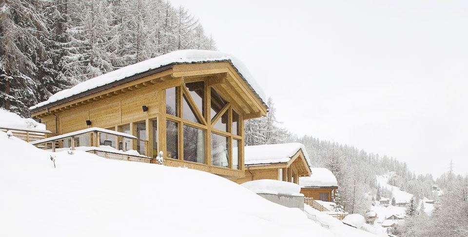 Chalet Janluke in winter 2013 season
